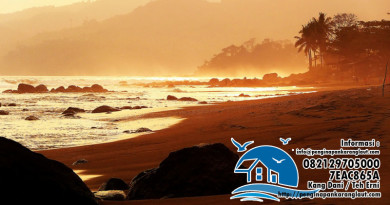 Pantai Karang Papak Pameungpeuk - Garut
